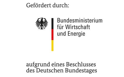 Gefördert durch: Bundesministerium für Wirtschaft und Energie aufgrund eines Beschlusses des deutschen Bundestags.