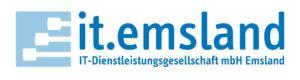 Logo der IT-Dienstleistungsgesellschaft mbH Emsland (kurz: it.emsland)
