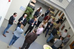 Networking war ein wichtiger Bestandteil des Barcamp Ems.