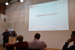 Rolf Krass-Westerink und Sabrina Krass referierten über Gesundheitsdaten.