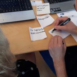 In vier Modulen erarbeiten die Teilnehmenden ihre Ziele und Ideen