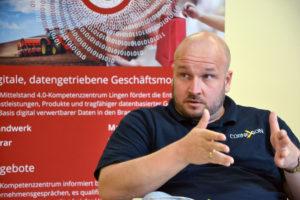 Andreas Bernaczek von Cornexion erläutert den Start-ups, worauf es bei der Suche nach Investoren ankommt.