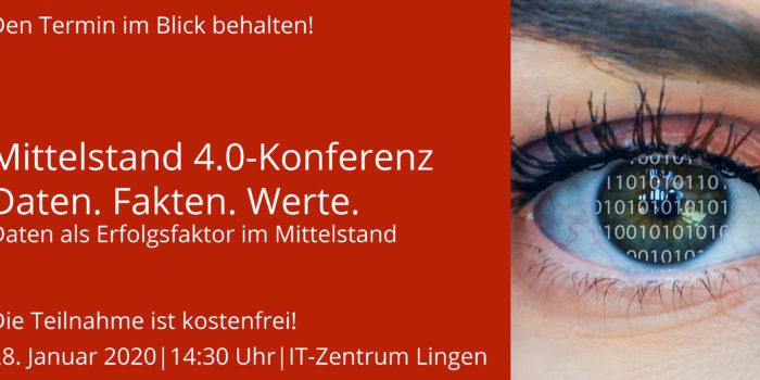 Mittelstand 4.0-Konferenz in Lingen | Daten. Fakten. Werte.