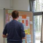 Die Teilnehmenden stellten sich gegenseitig ihre Geschäftsmodell vor und analysierten diese.