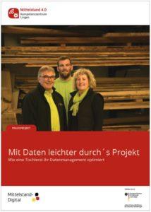 Familie Pawelleck in ihrer Tischlerei in Lingen (Foto: M. Pawelleck)