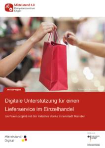 """Cover des Praxisbeispiels mit der """"Initiative starke Innenstadt Münster"""" aus Münster"""