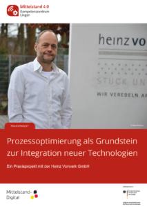 Cover des Praxisbeispiels mit der Heinz Vorwerk GmbH aus Warendorf.