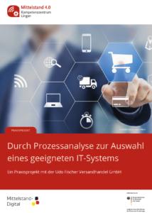 Cover des Praxisbeispiels mit der Udo Fischer Versandhandel GmbH aus Hürth.